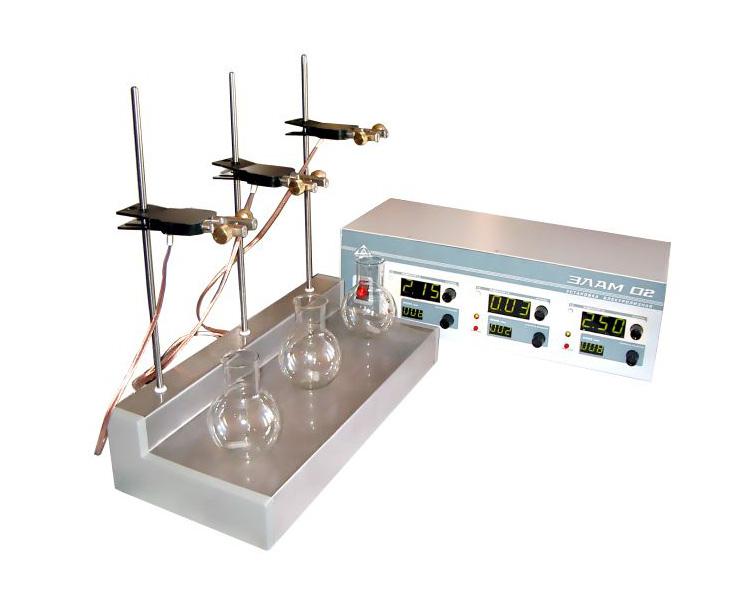 Laboratory electrolysis plant ELAM-02