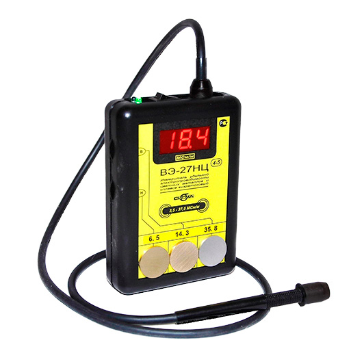 Vortex current meter of specific conductivity VE-27NC